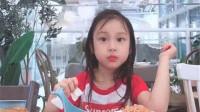 甜馨长大了,不像李小璐,越来越像爸爸贾乃亮!