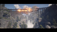 【舍长直播】真把桥炸了!—《荒野大镖客2》实况58