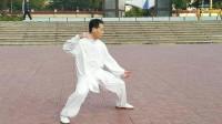 一本太极-传统陈氏太极拳新架一路演练之三