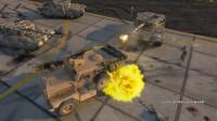[琴爷]最强ENB画质GTA5MOD: 装甲车cougar4!自带火神机枪