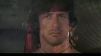 第一滴血2:Rambo驾驶直升机返回越军营地,营救被困美军战俘