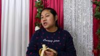 这种品种的香蕉好甜哦,吃着口感好 朱坤(2019-2-3)4K