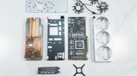 AMD首款7nm高端显卡 Radeon VII首发拆解视频