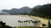 老钟游澳门(5)--鹭环海天度假酒店阳台远望黑沙滩