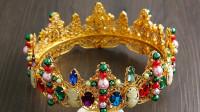 12星座变成女王,最适合戴哪种皇冠?天蝎座的真气派!