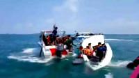 救援画面曝光!载有23名中国游客快艇在泰国海域倾覆