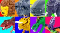 奇妙的动物和恐龙变形玩具介绍