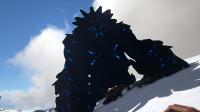 方舟生存进化潘多拉 12 雪山抓的超级厉害的大金刚