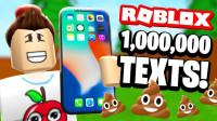 小飞象解说✘Roblox短信模拟器 2亿元的IPhoneX!超难岩浆洪水跑酷!乐高小游戏