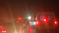 急救车被堵高速应急车道 3公里路走半小时