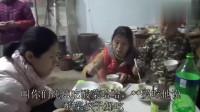 农村媳妇问小外甥酸菜饺子好吃吗?小家伙为啥不说话就是猛吃!