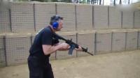 SIG516突击步枪持续射击5个弹匣,枪管热的都能煎鸡蛋了