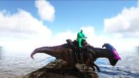 方舟生存进化 帕格纳西亚01 緑巨人一声吼,副栉龙直喷口水