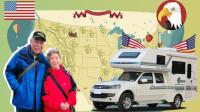 美国房车自驾那些事,70岁老人50天走遍美国
