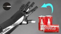 小伙利用易拉罐制作出钢铁侠手臂,还能发射出激光吗