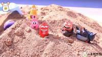 爆笑虫子宝宝们是在寻找宝藏吗?真相会是什么呢?