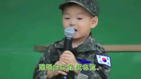 三胞胎合奏军歌,民国唱歌,万岁和大韩打鼓
