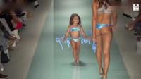 超级小模特:在迈阿密时装周中成了聚焦, 非常可爱, 有型!