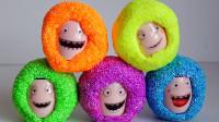奇宝萌兵趣味泡沫玩具球,搭配正确的奇宝萌兵