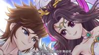搞笑王者动画:刘关张三人战吕布,战况激烈,子龙却跟貂蝉边跳舞边调情