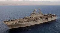美军准航母逼近,伊朗拒绝让步,又一艘千吨驱逐舰服役