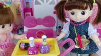 儿童玩具 娃娃理发店  为宝宝洗头  为米露做发型