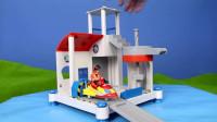 消防员山姆 丰富的玩具拆箱视频