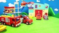 狗狗巡逻队与消防员山姆玩具大组合拆箱玩具
