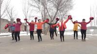 农村的开心小乐团,广场舞《新年大吉》,也太喜庆了!