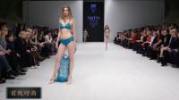 最新TOTTI白俄罗斯泳装周时尚走秀,朦胧的薄纱带来时尚的美感