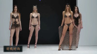 最新TOTTI白俄罗斯泳装周时尚走秀,豹纹总是秀场上的亮点