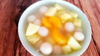 汤圆最简单美味的做法,简单一搓一煮,软糯可口,一大碗不够