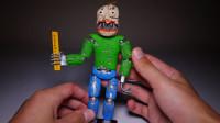 手办玩偶制作秀:用软泥装扮打造一个梦魇巴尔迪