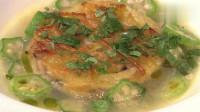 《食彩之国》土豆蚬贝片,浓稠的汤汁,美味在口中化开