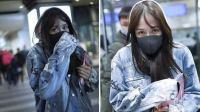 港台:陈乔恩机场素颜被拍 高清照流出网友惊呆