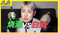 韩国人第一次喝白酒反应!韩国酒桌游戏笑skr人