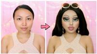 女子每天早起给自己化妆,妆容有些过分,但一切都是为了孩子!