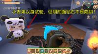 迷你世界:小老弟以身试险,证明前面的钻石不是陷阱!