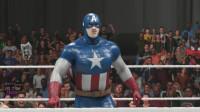 WWE2K19 美国队长 VS 黑羊