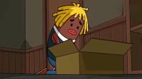搞笑吃鸡动画:马可波脱离团队独自一人落入P城,悲伤的唱起了铁窗泪