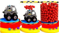 儿童英语老朋友玩具怪兽车是如何变年前的呢
