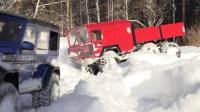 RC遥控奔驰越野车MAN卡车雪地越野