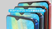 华为P30系列再曝光:屏幕参数揭晓,还是要用水滴屏?