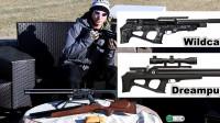 泰迪讲解三把FX气枪公司产品录像设备装在瞄准镜旁边