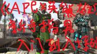 坑爹哥解说 《APEX英雄新手教学》从入门到入土P1: 如何快速下载游戏新手枪械推荐
