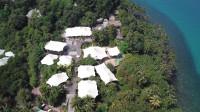 无人机航拍:泰国阁骨岛索尼娃奇瑞度假村