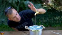 悬空的水龙头不断流水,究竟是什么原理?