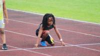 """美国7岁小男孩6块腹肌,百米成绩13秒48,成为""""地球最快男孩""""!"""