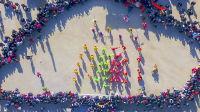 海阳大秧歌最精彩的斗秧歌表演-非物质文化遗产20190217