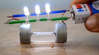 发电机的工作原理是什么?牛人发明了一个,一目了然